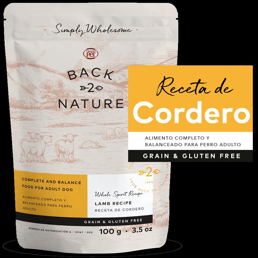 Back 2 Nature Receta de Cordero